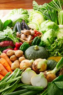 北海道道産野菜イメージの写真素材 [FYI01755317]