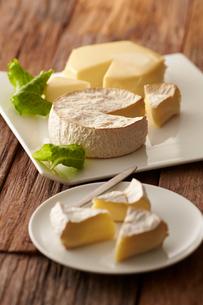 カマンベールチーズの写真素材 [FYI01755360]