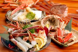 蟹の宴会料理の写真素材 [FYI01755450]