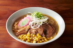 札幌味噌コーンラーメンの写真素材 [FYI01755576]