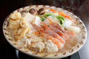 海鮮鍋の写真素材 [FYI01755624]
