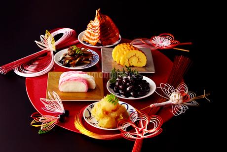 お正月のお節料理イメージの写真素材 [FYI01755727]