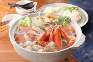海鮮鍋の写真素材 [FYI01755830]