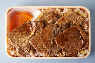 ステーキ弁当の写真素材 [FYI01755903]