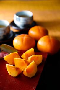 柿の写真素材 [FYI01755915]