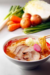 札幌味噌ラーメンの写真素材 [FYI01755930]