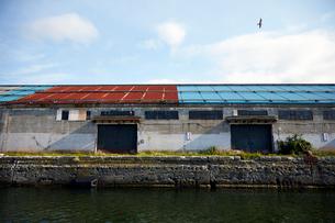 小樽の倉庫の写真素材 [FYI01756283]