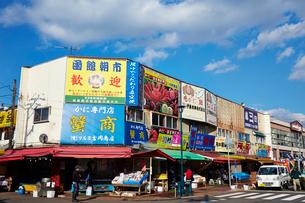 函館朝市の写真素材 [FYI01756287]