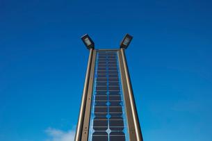 ソーラーライトパネルの写真素材 [FYI01756306]