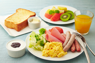 朝食のイメージの写真素材 [FYI01756502]