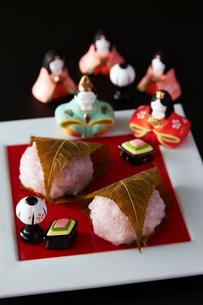 桜餅の写真素材 [FYI01756525]