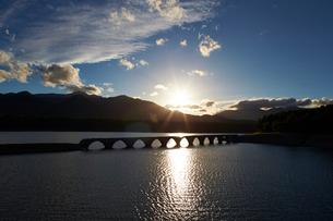 タウシュベツ橋梁の写真素材 [FYI01756626]