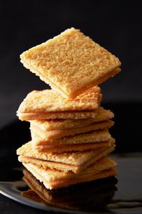 ココナッツクッキーの写真素材 [FYI01756979]