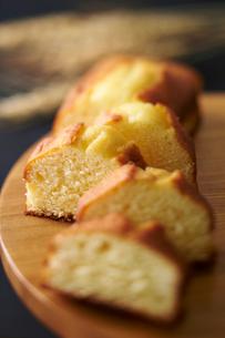 パウンドケーキの写真素材 [FYI01756996]
