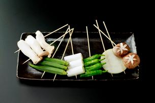 野菜串の写真素材 [FYI01757239]