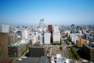 さっぽろテレビ塔から見たJR札幌駅の写真素材 [FYI01757259]