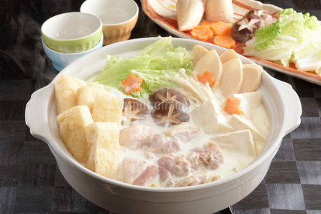 豆乳鍋の写真素材 [FYI01757296]