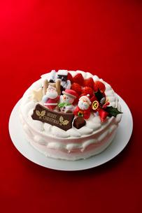 クリスマスケーキの写真素材 [FYI01757333]