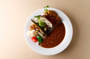 野菜カレーの写真素材 [FYI01757893]