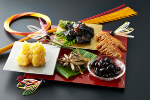 おせち祝い膳の写真素材 [FYI01757933]
