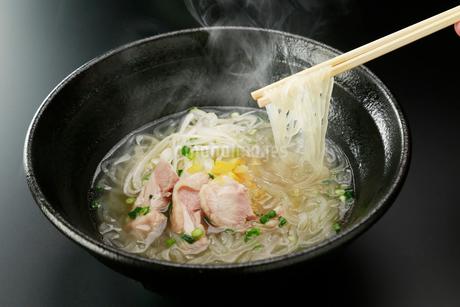 温麺 ゆず塩の写真素材 [FYI01758068]
