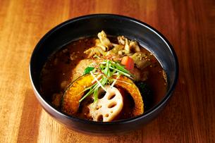 スープカレーの写真素材 [FYI01758207]