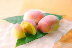 マンゴー饅頭の写真素材 [FYI01758261]