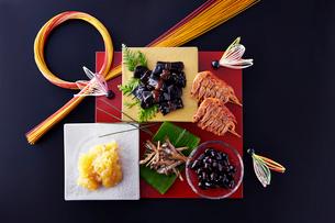 おせち祝い膳の写真素材 [FYI01758412]