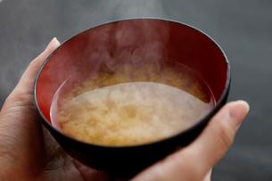 味噌汁の写真素材 [FYI01758517]