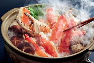タラバ蟹鍋の写真素材 [FYI01758639]