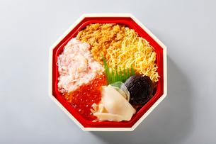 北海海鮮弁当の写真素材 [FYI01758814]