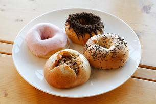 手作りドーナッツの写真素材 [FYI01758834]