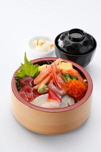 海鮮丼の写真素材 [FYI01758900]