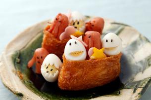 可愛いいなり寿司の写真素材 [FYI01759134]