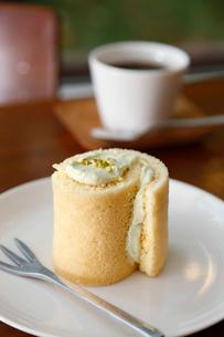 ロールケーキの写真素材 [FYI01759557]
