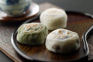 焼き大福餅の写真素材 [FYI01759819]