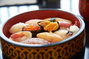 小樽の寿司の写真素材 [FYI01759996]