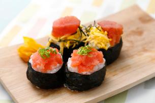 巻き寿司の写真素材 [FYI01760016]