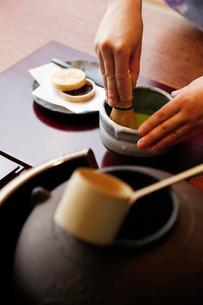 抹茶のイメージの写真素材 [FYI01760020]