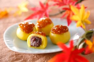 秋のだんごの写真素材 [FYI01760084]