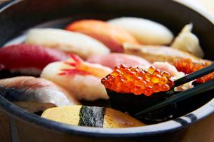 寿司イメージの写真素材 [FYI01760163]