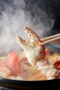 タラバカニ鍋の爪のイメージ写真の写真素材 [FYI01760266]