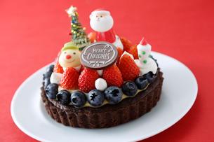 クリスマスケーキの写真素材 [FYI01760268]