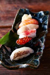 北海寿司セットの写真素材 [FYI01760299]