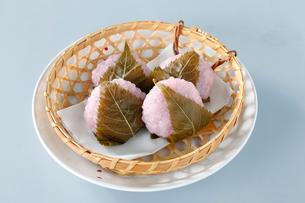 桜餅の写真素材 [FYI01760312]