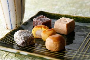 和菓子の写真素材 [FYI01760603]
