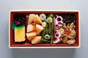 山菜アサリ弁当の写真素材 [FYI01760671]