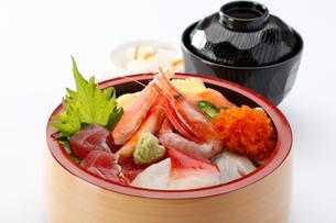 海鮮丼の写真素材 [FYI01760685]
