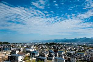 新興住宅街の写真素材 [FYI01762004]