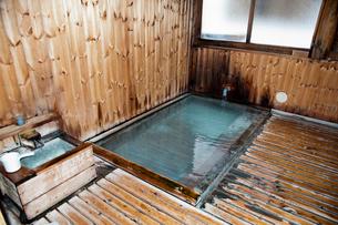 蔵王温泉下湯共同浴場の写真素材 [FYI01762069]